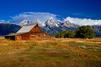Barn in the Tetons