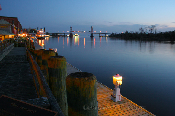 Cape Fear River at Dusk